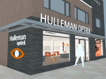 New shop for Hulleman Optician
