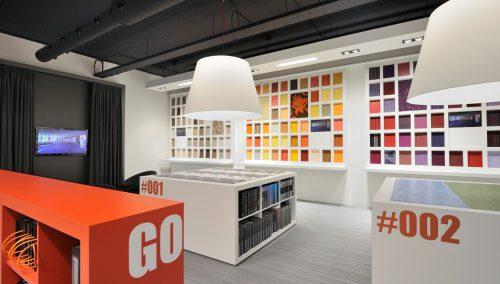 Showroom design de Korte by WSB Retail Design