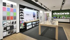 Dixons Concept Retail design en turn key realisatie: WSB