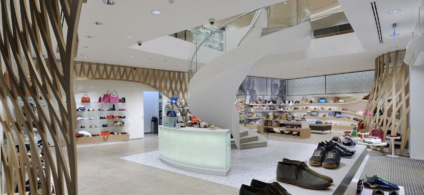 39a68e4031 NR 1 Retail design and shopfitting of successful shoe shops >
