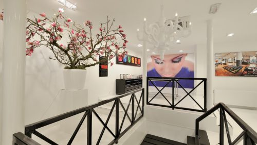 Inglot, design beauty salon