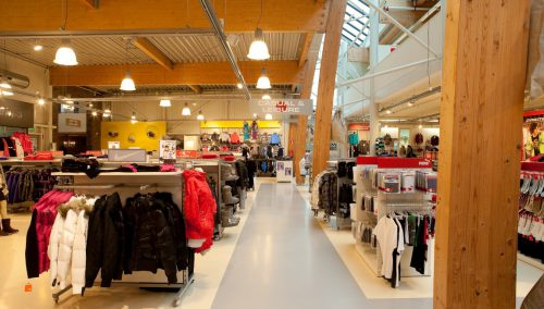 Shop design Intersport, Roden (NL)