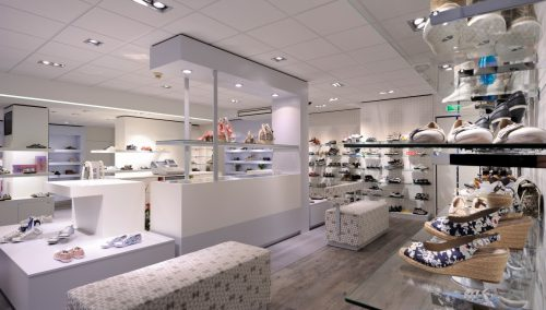 Shop design Smit Shoes, Krabbendijke