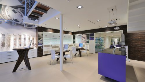 Interior design Eekelaar Optician