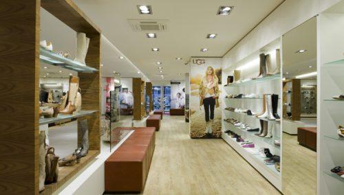Van Keeken Schoes, interior design