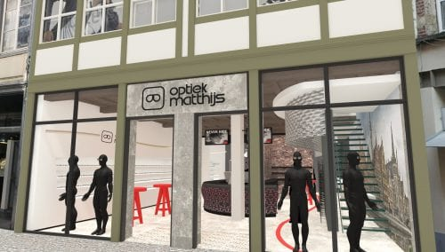 Retail design Matthijs Optician in Gent (BE)