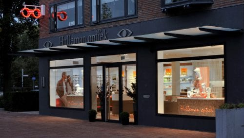 Retail design Royal Hulleman Optician (NL)