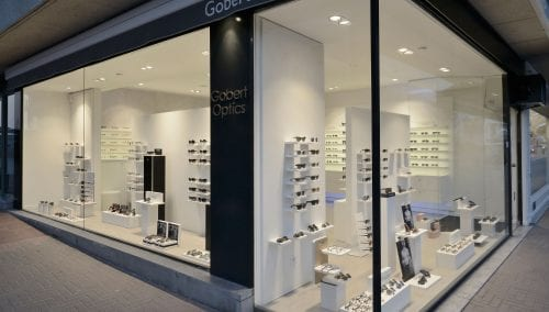 Interior design Knokke Heist > Gobert Optics by WSB