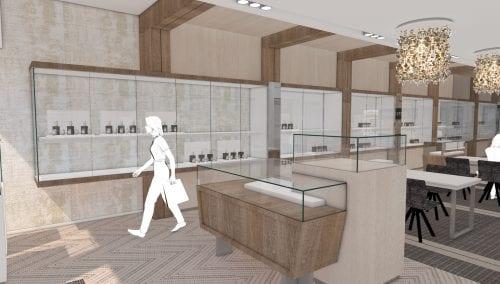 Stunning design for dutch jewellery shop Robert den Haag