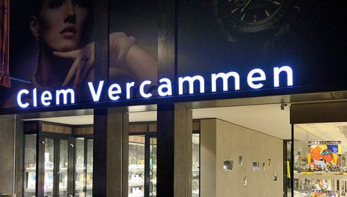 Retail design Jewellery Vercammen