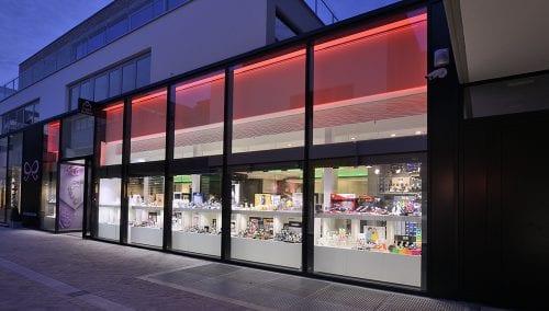 Interior design jewellery Frank Hellinx – Bilzen (BE)