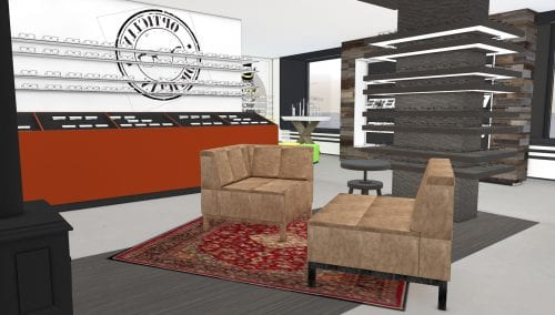 Interior design: De Romph Optician en Nuytinck Opthalmic