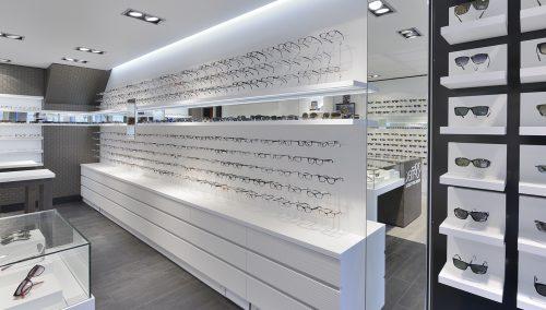 Nuytinck optician retail design & retail construction