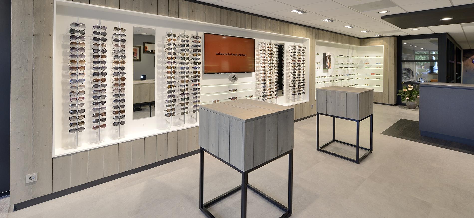 Rénovation de magasin d'optique