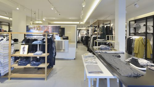 Anna van Toor Fashion: Shopfitting by WSB