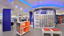 Shopfitting Intersport concept, NL