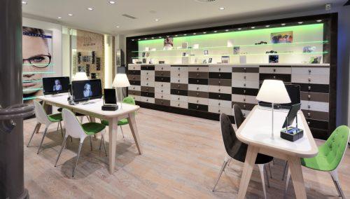 Van der Leeuw Optician, Delft (NL): Retail design