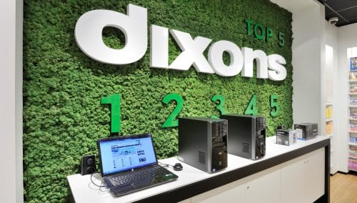 Retail design Dixons 3.0 Concept by WSB Shopfitting Group Electronics