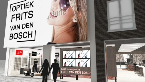 Looking for unique eyewear displays? Coming soon: Design van den Bosch Optician