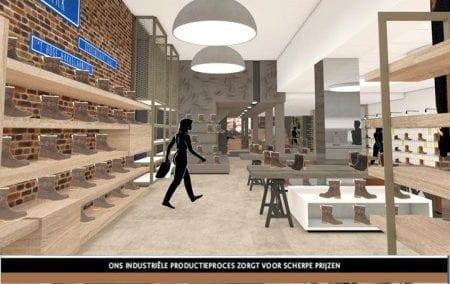 Interior design Bronkhorst Shoes