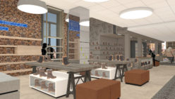 Retail design of new experience store Bronkhorst Shoes by WSB For Better Shops