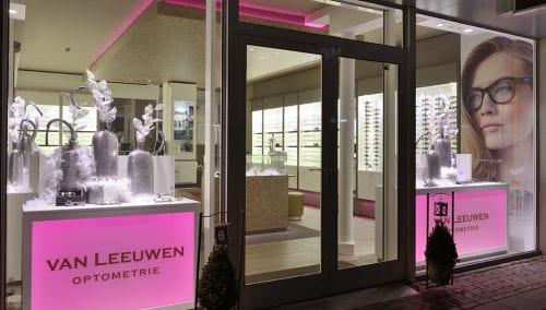 Interior design Optician van Leeuwen