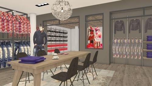 Retail Design Brinkers Fashion
