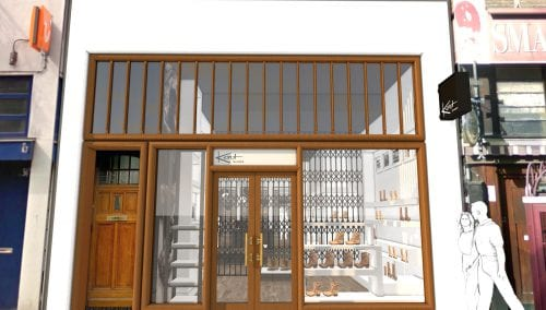 New Shoe shop design Kort Shoes Amsterdam
