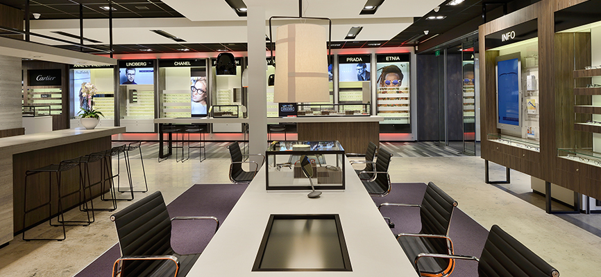 Interior design optician >> Let us create shopping experience together!