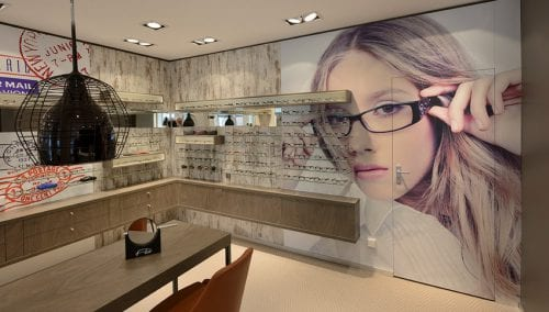 Store Fixtures Optician by WSB