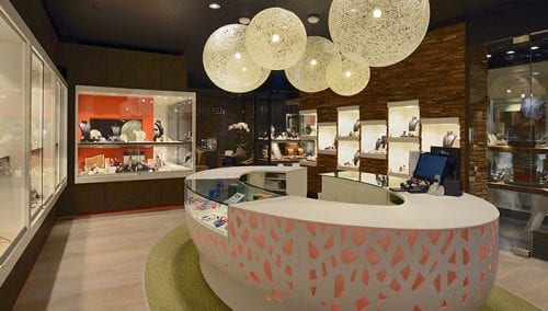 European Nr 1 Interior fitting mono brand stores