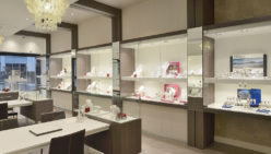 Shop fitting secure jewelry store Robert den Haag by WSB