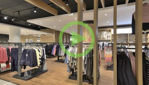 Shopfitting Fashion for Berden Mode