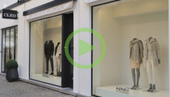 Shopfitting: Exclusive fashion store – Brunello Cucinelli by Cleo