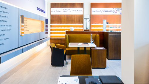 Schmidt Optician – Amsterdam: Retail design optical store
