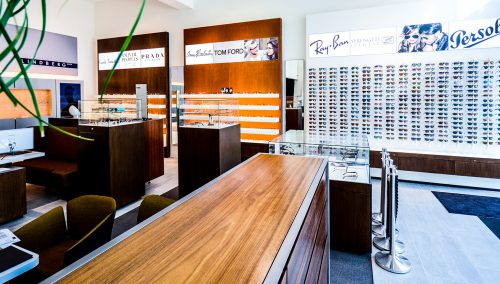 Schmidt Optician – Amsterdam: Retail design optical store