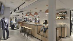 Bossenbroek Men's Fashion: Retail design and shopfitting