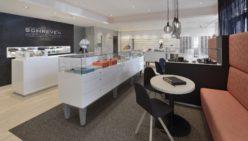Schreven jeweler and optician: Interior design