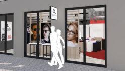 Waller Optik – Hofheim (DE): Design and shopfitting optician shop
