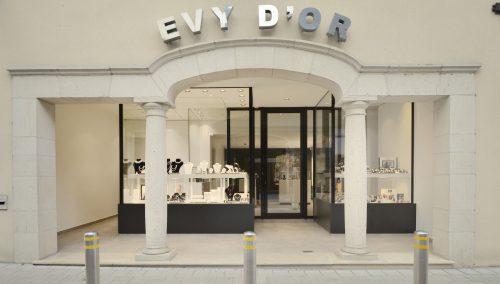Evy d'Or in Ingelmunster (BE) – Retail design Jeweler shop