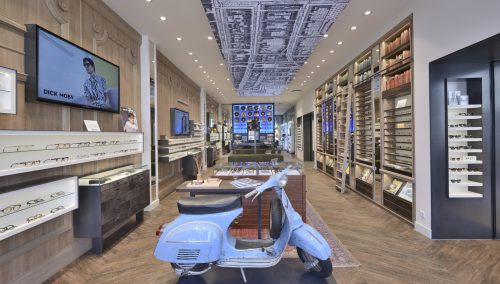 Dijck2 Optics | Progressive, hip retail design optician