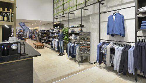 Thorough restyling MarcEdwards Menswear, Haarlem
