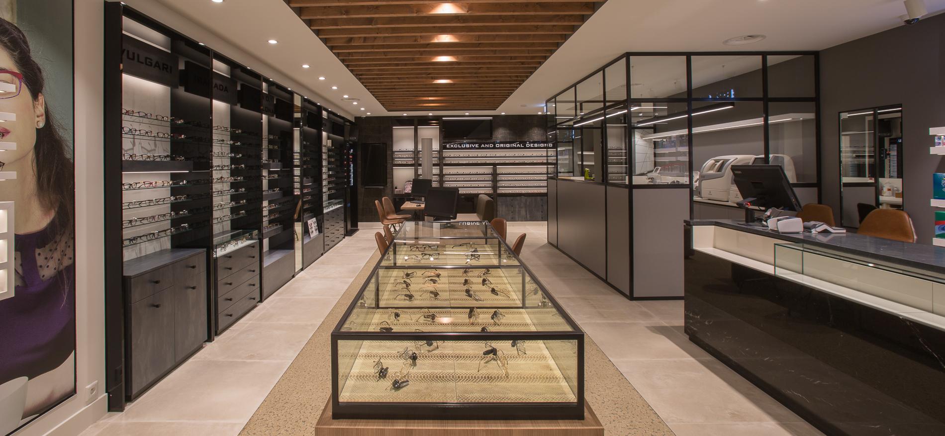 Reyntjens Optics | Complete Shop Design