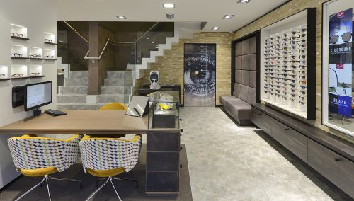 Van der Knaap Optics  | Shop Design